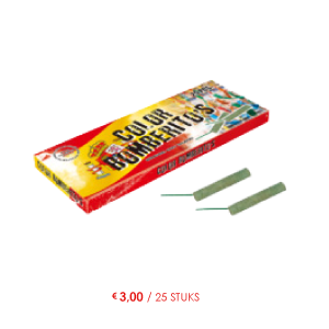 color bomberito's