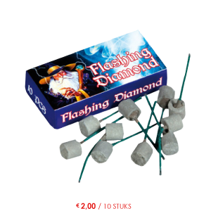 flashing diamond
